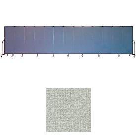 """Screenflex 13 Panel Portable Room Divider, 6'H x 24'1""""L, Vinyl Color: Mint"""