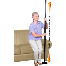 Stander™ 1150-B Security Pole, Black