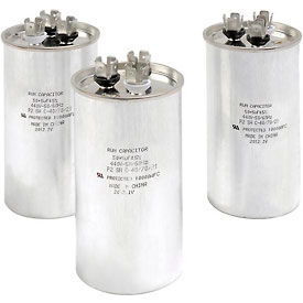 Global Industrial™ B461353, 50 +/- 5% MFD, 440V, Run Capacitor, Round