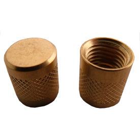 "Supco SF2245P25 Round Replacement Caps 1/4"" Flare (25 per bag) - Pkg Qty 25"