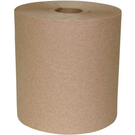Sellars® 1-Ply Hard Wound Roll Towel Natural- 800', 6 Rolls/Case 183213