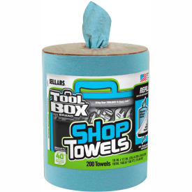 Sellars® Toolbox® Z400 Blue Shop Towel Refill, 200 Sheets/Refill, 6 Refills/Case 55207