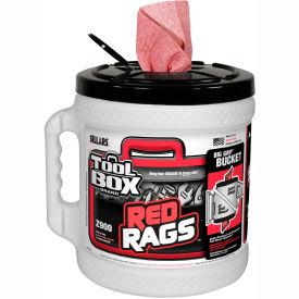Sellars® Toolbox® Z900 Red Print Big Grip®, 140 Sheets/Bucket, 2 Buckets/Case 70140