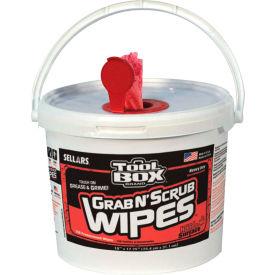 Sellars® Grab N' Scrub™ Multi-Purpose Wipes, 130 Sheets/Bucket, 4 Buckets - 90100