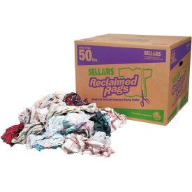 Sellars® Reclaimed Rags - Flannel, 50 Lbs. 99208