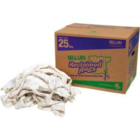 Sellars® Reclaimed Rags - White Turkish Towel, 25 Lbs. 99211
