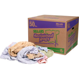 Sellars® Reclaimed Rags - Turkish Towel, 50 Lbs. 99214