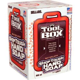 Sellars® Toolbox® Shop Tough Hand Soap™- 800 Ml Bag, 12 Soaps/Case 99802
