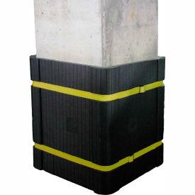 "Park Sentry® Column Protector Kit - For 24"" x 24"" Square Columns, Black"