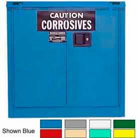 Securall® 30-Gallon, Self-Close, Acid & Corrosive Cabinet Md Green