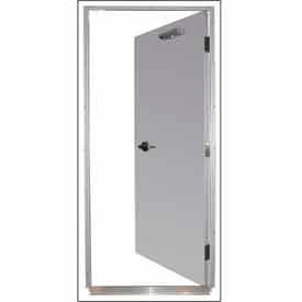 """Securall® 16G 36""""W x 84""""H 1.5 Hour Fire Rated Quick-Mount Door RH Reverse"""
