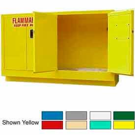 Securall® 44-Gallon Manual Close, Laboratory Cabinet Beige