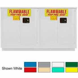 Securall® 44-Gallon Sliding Door Laboratory Cabinet Ag Green