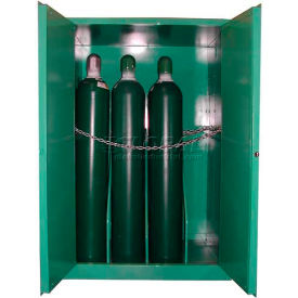 "Securall® 12, H Cylinder, Vertical Medical Gas Cabinet, 43""W x 34""D x 67""H"