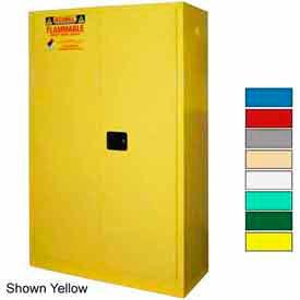 Securall® 60-Gallon, Sliding Door, Paint/Ink Cabinet Blue