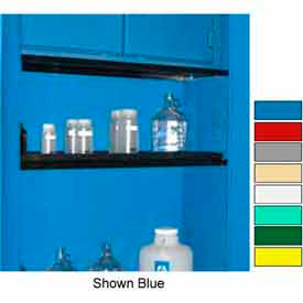 """Securall® Extra Shelf for Cabinets 43"""" Wide, Yellow"""