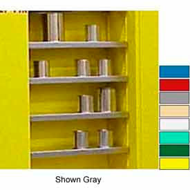 "Securall® Extra Shelf for 43""Wx12""D Wall Mounted Cabinet Ag Green"
