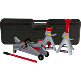 Click here to buy Pro-Lift 2 Ton Floor Jack/Jack Stand Combo F-2330BMC.