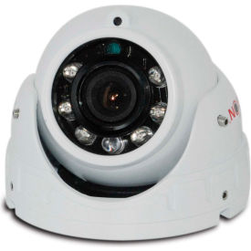 Safety Vision Interior Camera W/ Mic, IR 6 MM Black Housing - 41-3.6IR-BK