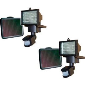 Sunforce 82156 60 LED Ultra Bright Motion Light (2 Pack)