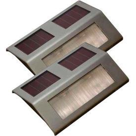 Sunforce 84507 Solar Dock Light (2 Pack) - Pkg Qty 2