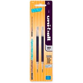 Sanford® Uni-ball Signo 207 Gel Pen Refill, 0.7mm, Blue Ink, 2/Pack