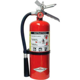 Amerex® 2.5 Pound Stored Pressure ABC Dry Chemical 1A:10B:C Multi-Purpose Fire Extinguisher For Clas