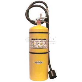 Amerex® 30 Lbs Class D Sodium Chloride F.M. Approved Fire Extinguisher With Wall Bracket
