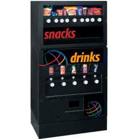 Seaga GEC95 - Vending Machine, 9/5 Combination, 9 Snacks Over 5 Refrigerated Beverages