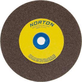 "Norton 07660788202 Gemini Bench and Pedestal Wheel 5"" x 1/2"" x 1"" 60 Grit Aluminum Oxide"