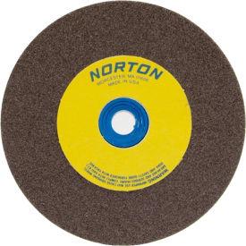 "Norton 07660788210 Gemini Bench and Pedestal Wheel 5"" x 3/4"" x 1"" 60 Grit Aluminum Oxide"