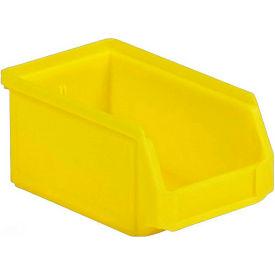 SSI Schaefer  LF060503.YL1 - 5 x 6 x 3 LF Hopper Front Plastic Stacking Bin, Yellow,  - Pkg Qty 50