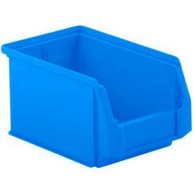 SSI Schaefer  LF090605.0BL1 - 6 x 9 x 5 LF Hopper Front Plastic Stacking Bin, Blue,  - Pkg Qty 20