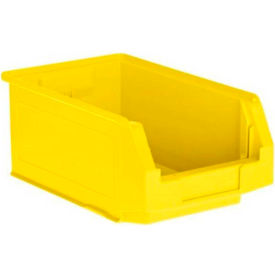SSI Schaefer LF140806.0YL1   8 X 14 X 6 LF Hopper Front Plastic Stacking