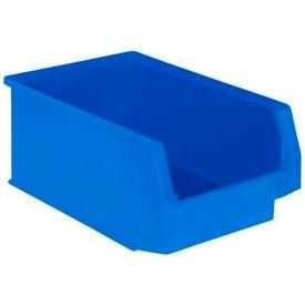 SSI Schaefer  LF201208.0BL1 - 12 x 20 x 8 LF Hopper Front Plastic Stacking Bin ,Blue,