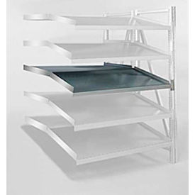 "Steel Pick Shelf Kit, Double, Tilt/Straight, 50""W x 48""D"