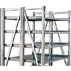 "Steel Pick Shelving, 5 Level, Double, Straight/Straight, 78""H x 50""W x 48""D, Starter"