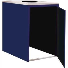 "Single Recycle Cabinet - 30""W x 27-3/4""D x 39-15/32""H (St. Louis Blue)"
