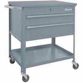 "Shure Tech Select Cart-Portable, 29-1/2""W x 18-3/4""D x 34-7/8""H-Sebring Grey"