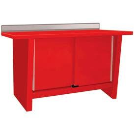 Custom® Series-Stationary, Steel Top, 2 Doors-Carmine Red