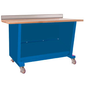 Custom® Series-Portable, Hardwood Top, open-Monaco Blue