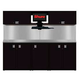 Shuretech STS-S2-8' Bench System-Gloss Black