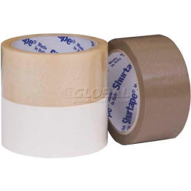 "Shurtape, Printable UPVC Film Packaging Tape, VF 719, Economy Grade, 1-1/2"" X 55YD, Natural"