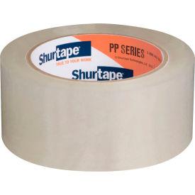 "Shurtape® Carton Sealing Tape PP815 1-1/2"" x 55 Yds 2.6 Mil Clear - Pkg Qty 36"