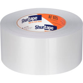 Shurtape AF 975CT Cold Temperature Aluminum Foil Tape, 60 mm x 150 ft. Package Count 20 by