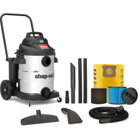 Shop-Vac® 10 Gallon 6.5 Peak HP Stainless Contractor Wet Dry Vacuum - 9627710