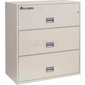 "3 Drawer Insulated Lateral File Cabinet - 30""W Sand, Legal"