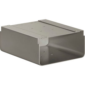 Standard Pedestal Nickel-MAILBOX NEW Bolt Mounted Designer Roadside Mailbox