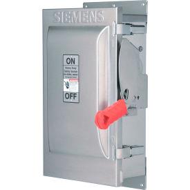 Siemens HF363SSW Safety Switch 100A, 3P, 600V, Fused, HDSS 316Ss 4X W/Window