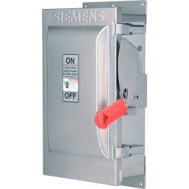 Siemens HFC323S Safety Switch CSA, 100A, 3P, 3W, 240V, Fused, HD, Type 4X